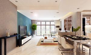 115平米 三室两卫两厅 北欧极简风格