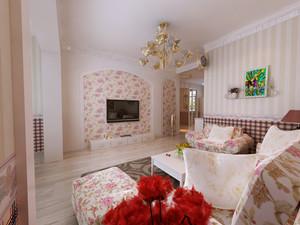 85平米 2室2厅 田园